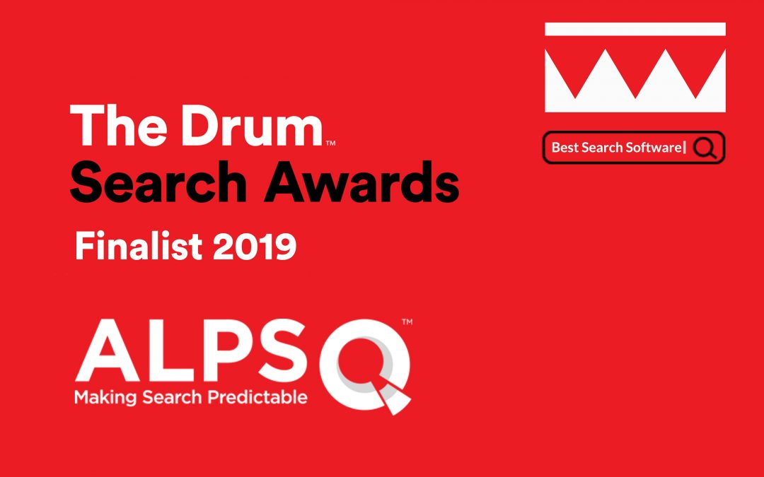 iQuanti is a Finalist for The Drum Search Awards 2019 (UK)