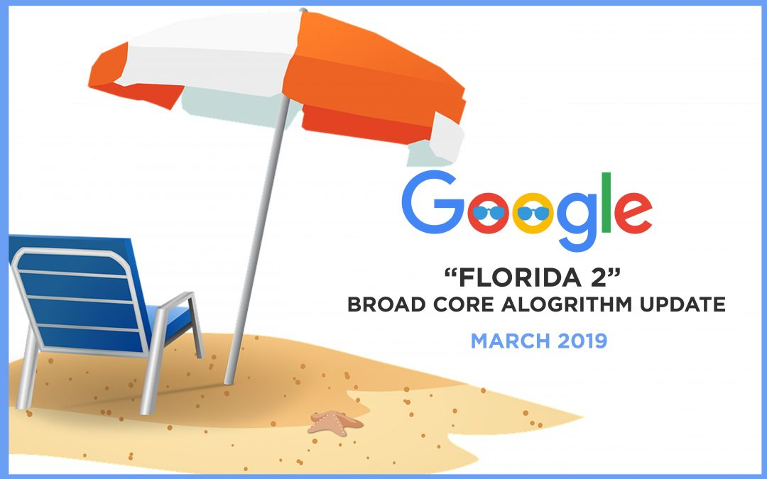 How to Respond to Google's March 2019 Core Algorithm Update