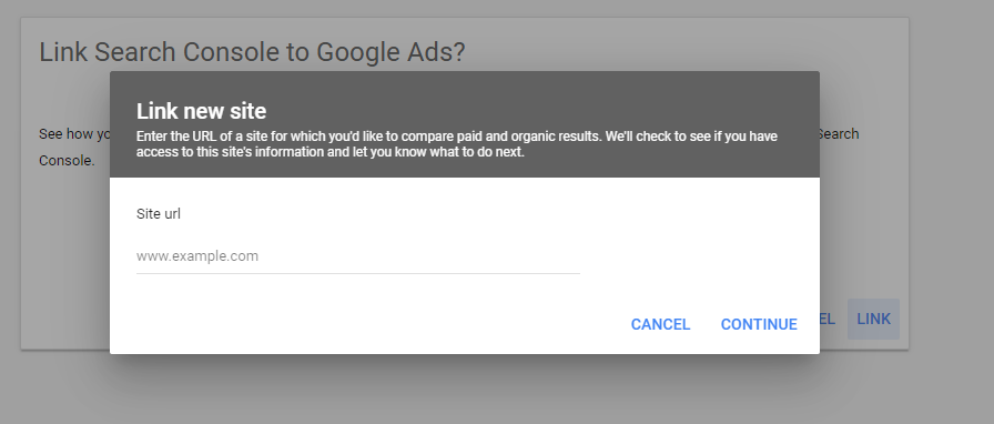 Step 3 in the process to access the Google organic + paid report.
