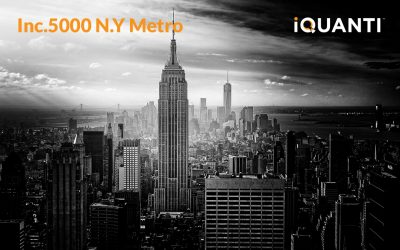iQuanti Recognized by Inc. 5000 Regionals as One of N.Y. Metro's Fastest-Growing Private Companies