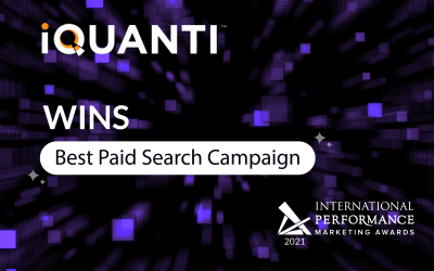 iQuanti Wins at IPMA 2021 for Best Paid Search Campaign